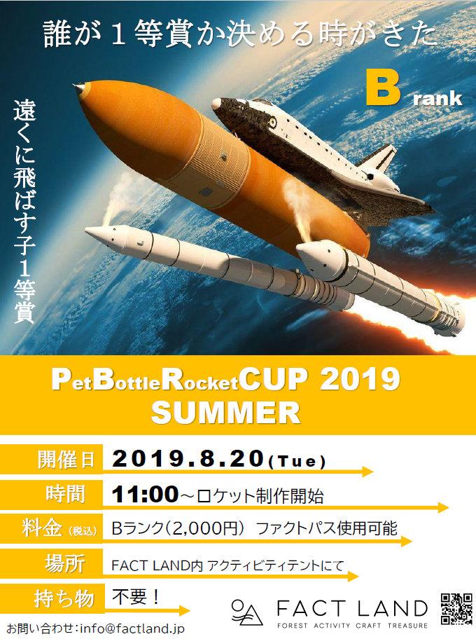 Pet Bottle Rocket CUP2019
